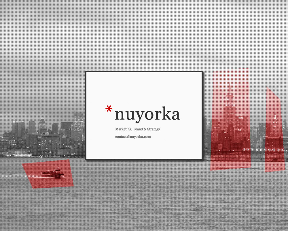 Nuyorka - Marketing, Brand and Strategy - contact AT nyuorka DOT com
